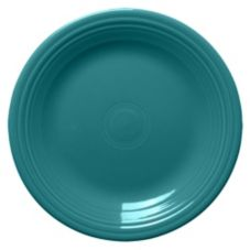 "Homer Laughlin 466107 Fiesta Turquoise 10-1/2"" Plate - Case - 12 / CS"