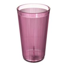 Crystalon® SAN Plastic Stack-All Tumbler, Rose, 20.7 oz