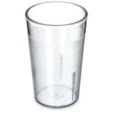 Carlisle® 550107 Stackable™ 5 Oz. Clear Tumbler