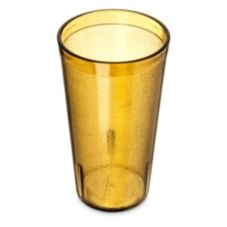 Carlisle 16 Oz Amber Stackable™ Tumbler