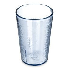 Carlisle® 552654 Stackable™ 8 Oz. Blue Tumbler - Dozen