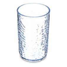 Carlisle® 550907 Optic 9.5 Oz. Clear Pebble Tumbler - 24 / CS