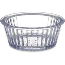 Carlisle Fluted Ramekin, Clear, 2oz