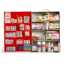Metal 4-Shelf Industrial First Aid Cabinet, 16-3/4 x 5-3/4 x 22