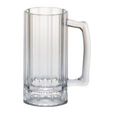 Cambro BWB16CW135 Aliso® Clear Plastic 16 oz Beer Mug - 12 / CS