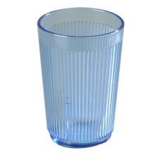 Carlisle 401054 Crystalon 10.2 Oz. Blue Stack-All Tumbler - 48 / CS
