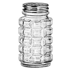 Salt / Pepper Shaker w/ Aluminum Top, 2 oz