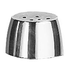 Chrome Plated Plastic Replacement Lid For Salt/Pepper Shaker