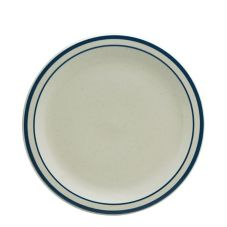 "Buffalo R4238028139 Blue Ridge Ivory 9"" Round Plate - 24 / CS"