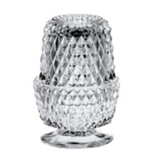 "Lancaster Colony 04-01698 Diamond Point 5-1/4"" Angel Light Candle"