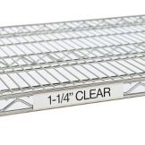 "Metro 9990CL30 25"" Clear Label Holders For Super Erecta® Shelves"