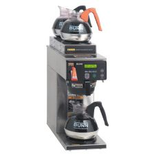 BUNN® 38700.0001 AXIOM 200 Oz. Coffee Brewer with 2 Upper Warmers