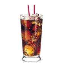 Libbey® 1453HT Heat-Treated 12.25 Oz. Footed Soda Glass - 36 / CS