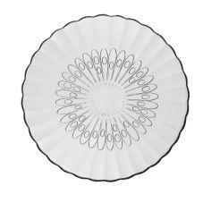 "Libbey® 15500 Bouquet Duratuff 7-5/8"" Salad Plate - 36 / CS"