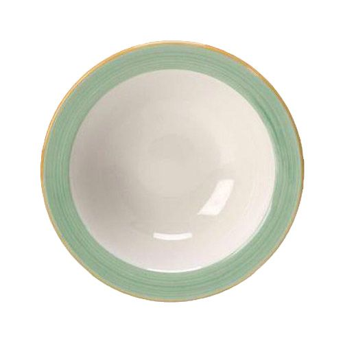 Steelite 15290126 Performance Rio Green 16 Oz Oatmeal Bowl - 36 / CS