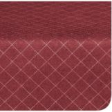 Marko 58231554L046 Designer Series Burgundy Diamond Head Tablecloth