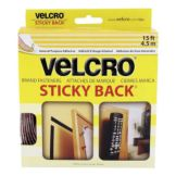 Snap Drape VELCRO 15 Ft Velcro Backing with Sticky Back