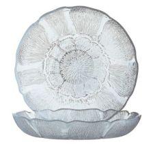 Cardinal J0226 Arcoroc Fleur 15 oz Soup / Deep Salad Plate - 36 / CS