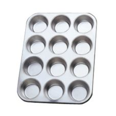 Norpro 3770 Tin 12-Cup Muffin Pan