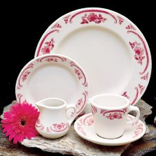 Homer Laughlin 1622 American Rose© 4 Oz. Fruit Dish - 36 / CS