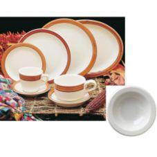 Homer Laughlin 1651580 Bavarian Brush 3.25 oz Fruit Dish - 36 / CS