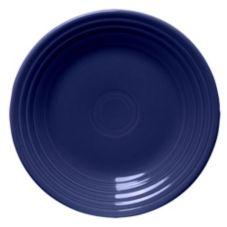 """Homer Laughlin China 465105 Fiesta® Cobalt Blue 9"""" Plate - 12 / CS"""