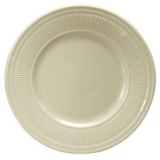"Buffalo® R4090000149 Nottingham Ivory 10-1/4"" Plate - 12 / CS"