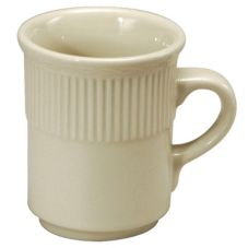 Buffalo® R4090000560 Nottingham Ivory 8 oz Mug - 36 / CS