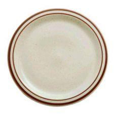 "Buffalo R4238026139 Dunes Ivory NR Plate, 9"" - 24 / CS"