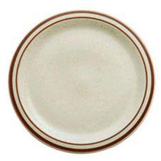"""Oneida R4238026150 Rego Dunes Narrow Rim 10-3/8"""" Plate - 12 / CS"""