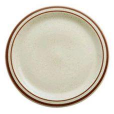 "Buffalo R4238026118 Dunes Ivory NR 6-3/8"" Plate - 36 / CS"