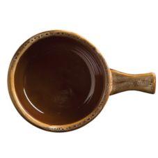 World Tableware OSC-15-H Caramel / Beige 12 oz Soup Crock - 24 / CS