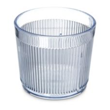 Carlisle 402907 Crystalon Old Fashioned Stack-All Tumbler - 48 / CS