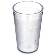 Carlisle® 550607 Stackable™ 9.5 Oz. Clear Tumbler - Dozen