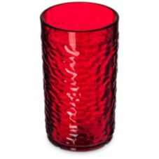 Carlisle® 551210 Pebble Optic™ 12 Oz. Ruby Tumbler - 24 / CS