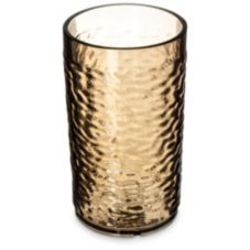 Carlisle® 551218 Optic™ 12 Oz. Smoke Pebble Tumbler - Dozen