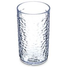 Carlisle® 550807 Pebble Optic™ 8 Oz. Clear Tumbler - 24 / CS