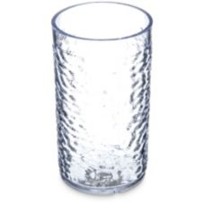 Carlisle® 551207 Optic 12 Oz. Clear Pebble Tumbler - 24 / CS