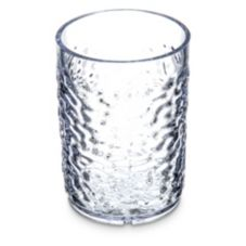 Carlisle® 550507 Optic™ 5 Oz. Clear Pebble Tumbler - Dozen