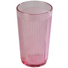 Carlisle® 401255 Crystalon 8.3 Oz. Rose Stack-All Tumbler - Dozen