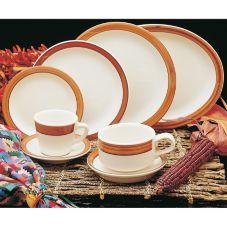 Homer Laughlin 2531580 Bavarian Brush 12.75 oz Soup Bowl - 24 / CS