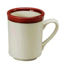 Oneida® R4148079560 Rego Jubilee Raspberry 8 oz Cafe Mug - 36 / CS