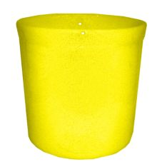 ICM Gaetano UC1.2 SUN Yellow Ceramic 0.5 Gal. Crock Without Lid