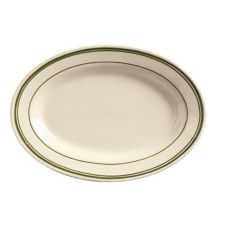 "World® Tableware VIC-14 Viceroy RE 13"" Oval Platter - 12 / CS"