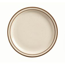 "World Tableware DSD-9 Ultima Desert Sand 9-1/2"" Plate - 24 / CS"