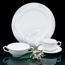 "Homer Laughlin 3691304 Seville® Fabrique© 9"" Plate - 24 / CS"