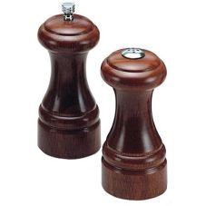 Olde Thompson Walnut Statesman Pepper Mill & Salt Shaker Set