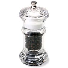 Olde Thompson Premier Acrylic Combination Peppermill & Salt Shaker