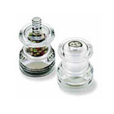Olde Thompson 3515-40-0-0 Half Pint Pepper Mill / Salt Shaker Set