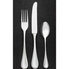 "World® Tableware 971-016 Aspen S/S 6"" Bouillon Spoon - Dozen"